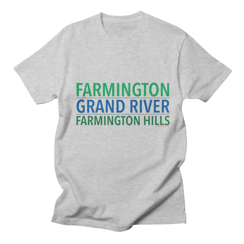 A (Grand) river runs through it Women's Unisex T-Shirt by farmingtonvoice's Artist Shop