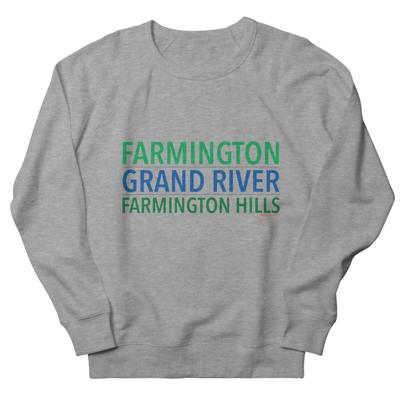 A (Grand) river runs through it Men's Sweatshirt by farmingtonvoice's Artist Shop