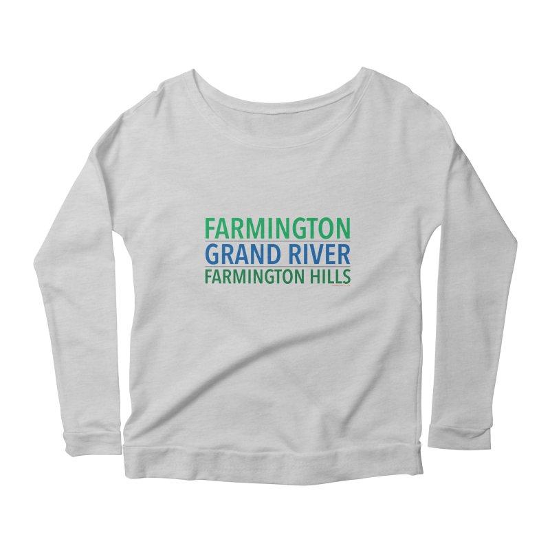 A (Grand) river runs through it Women's Scoop Neck Longsleeve T-Shirt by farmingtonvoice's Artist Shop