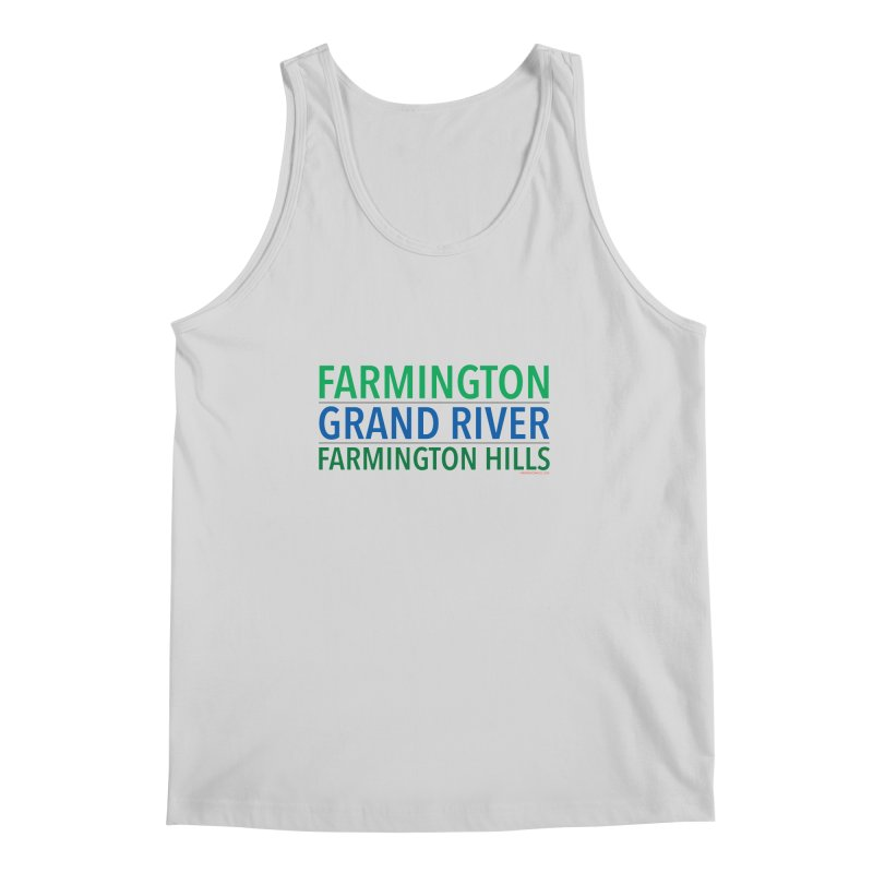 A (Grand) river runs through it Men's Regular Tank by farmingtonvoice's Artist Shop