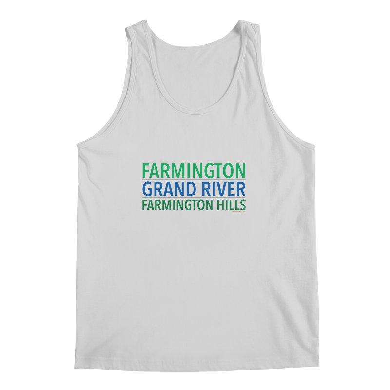 A (Grand) river runs through it Men's Tank by farmingtonvoice's Artist Shop