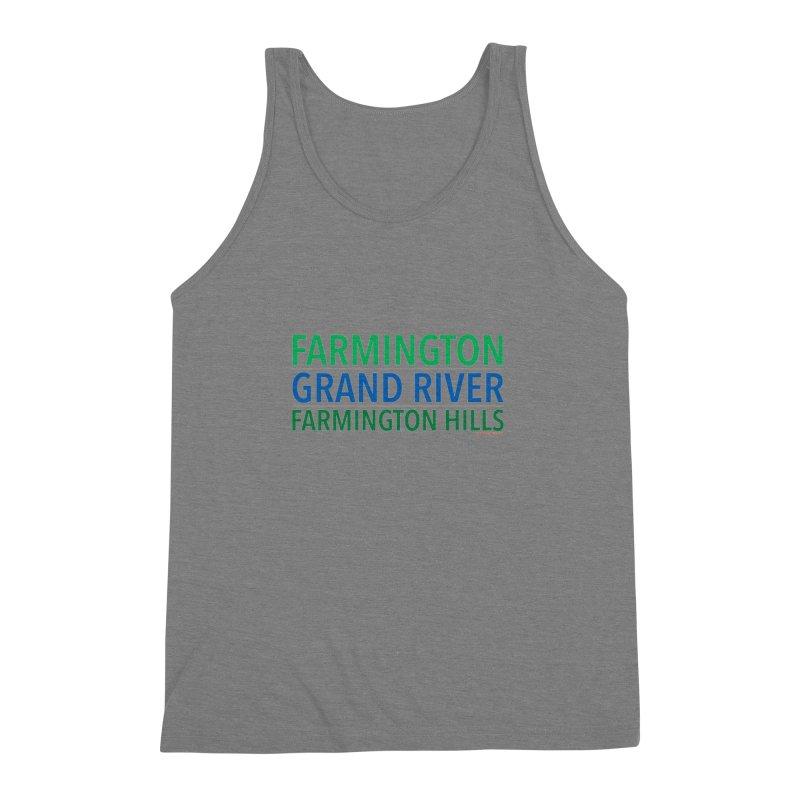 A (Grand) river runs through it Men's Triblend Tank by farmingtonvoice's Artist Shop