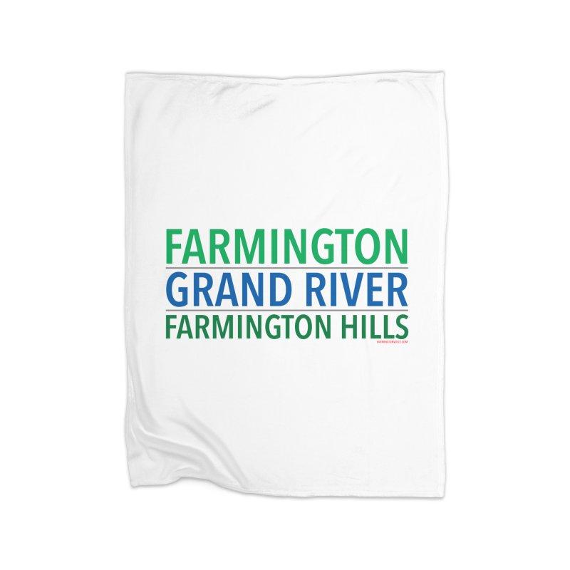 A (Grand) river runs through it Home Blanket by farmingtonvoice's Artist Shop