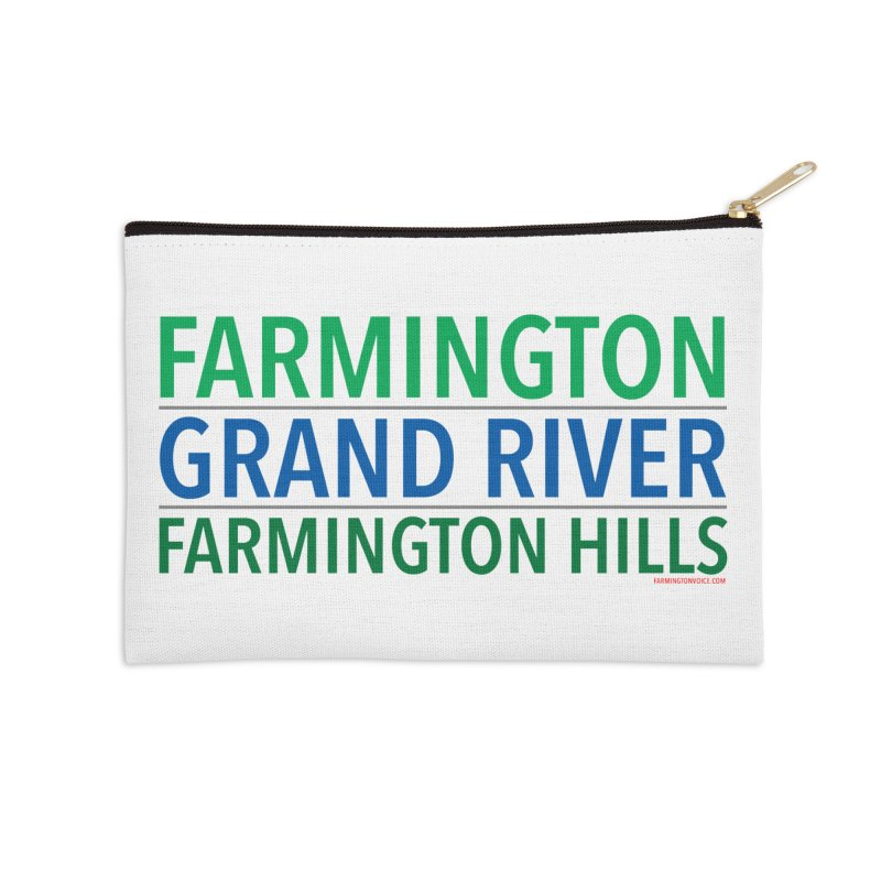 A (Grand) river runs through it Accessories Zip Pouch by farmingtonvoice's Artist Shop