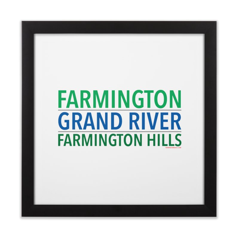 A (Grand) river runs through it Home Framed Fine Art Print by farmingtonvoice's Artist Shop