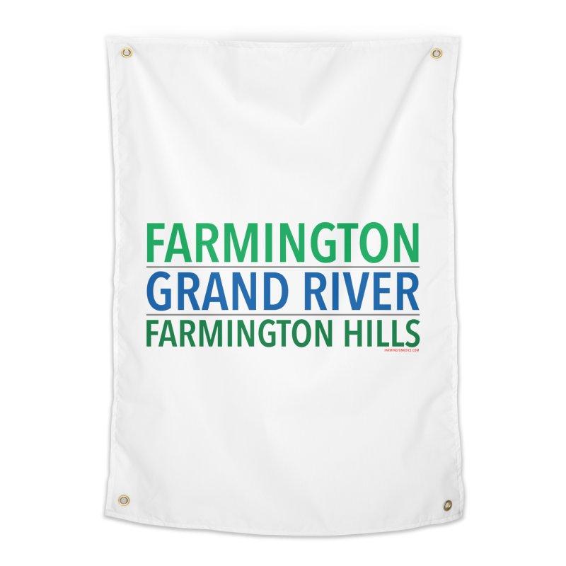 A (Grand) river runs through it Home Tapestry by farmingtonvoice's Artist Shop