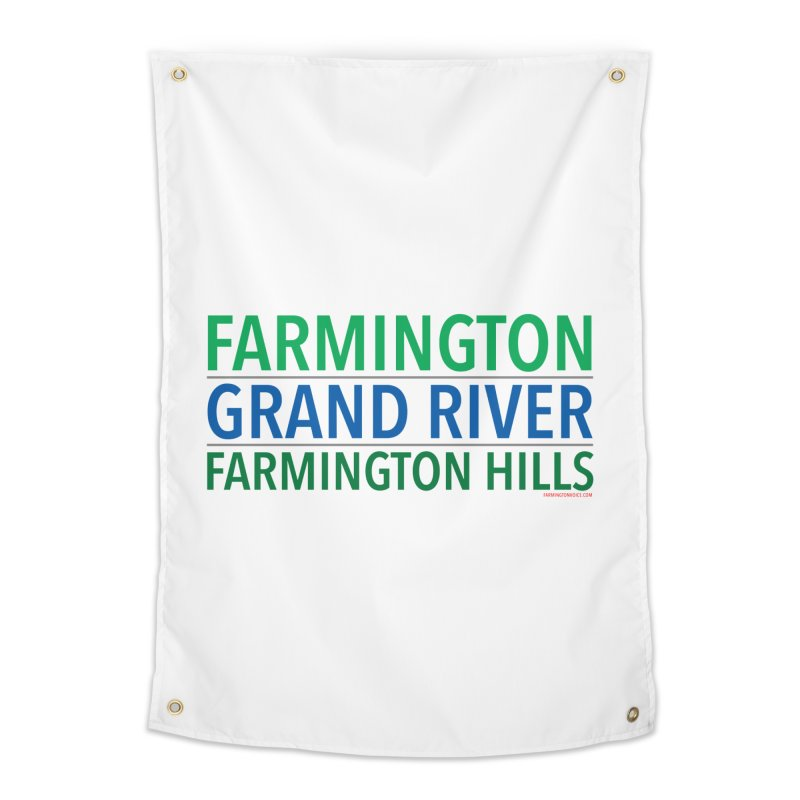 A (Grand) river runs through it Home Tapestry by farmingtonvoice's Artist Shop