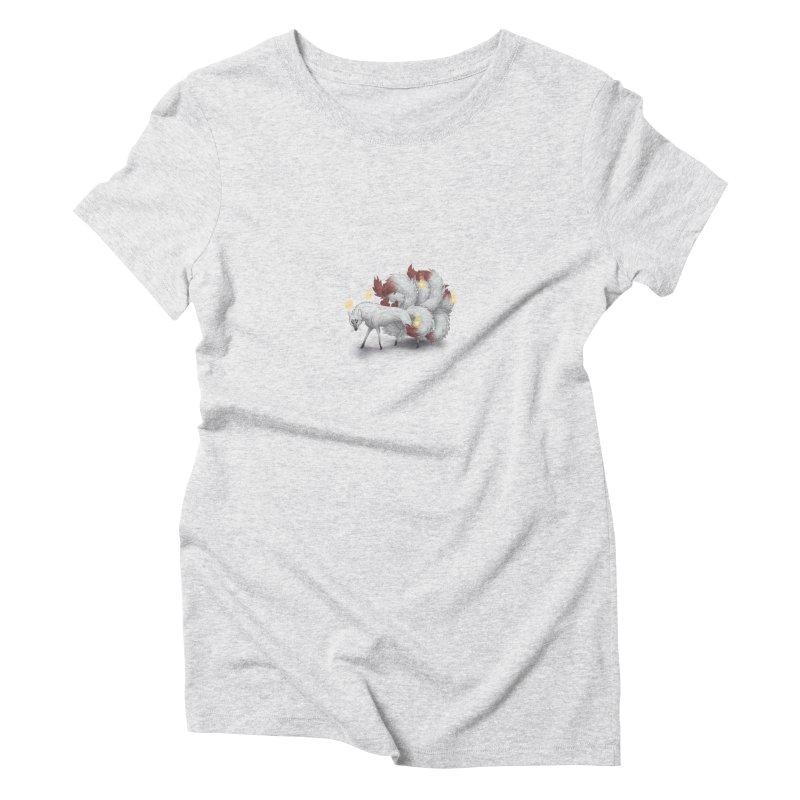 Kitsune Women's T-Shirt by farorenightclaw's Shop