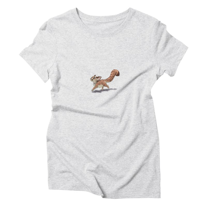 Little Tiger Women's T-Shirt by farorenightclaw's Shop