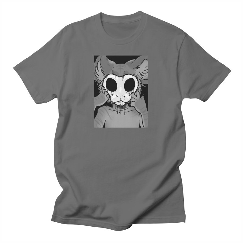 Behind The Mask Men's T-Shirt by farorenightclaw's Shop