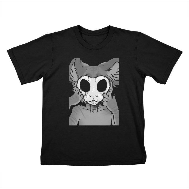 Behind The Mask Kids T-Shirt by farorenightclaw's Shop