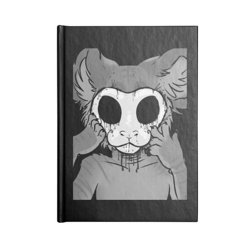 Behind The Mask Accessories Notebook by farorenightclaw's Shop
