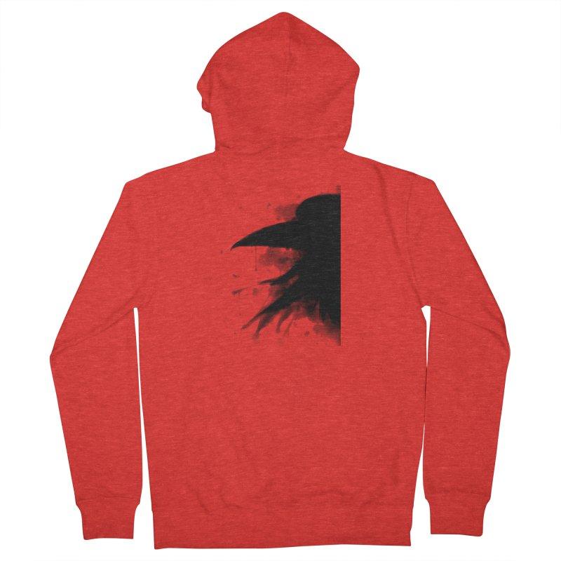 Nevermore Men's Zip-Up Hoody by farorenightclaw's Shop