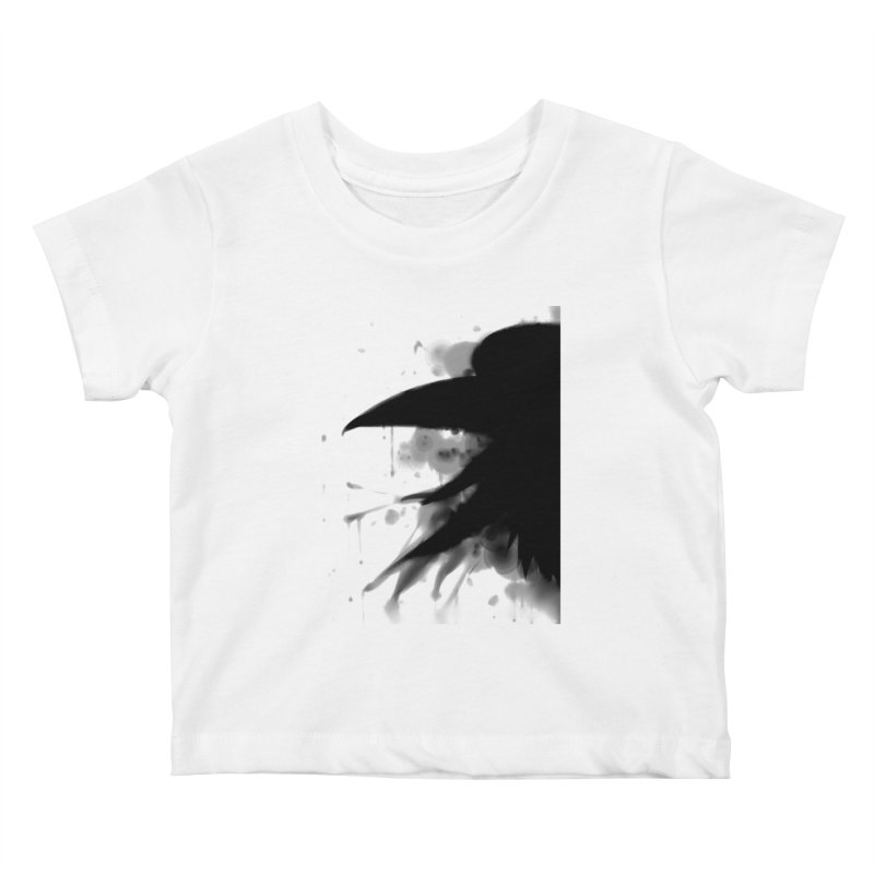 Nevermore Kids Baby T-Shirt by farorenightclaw's Shop