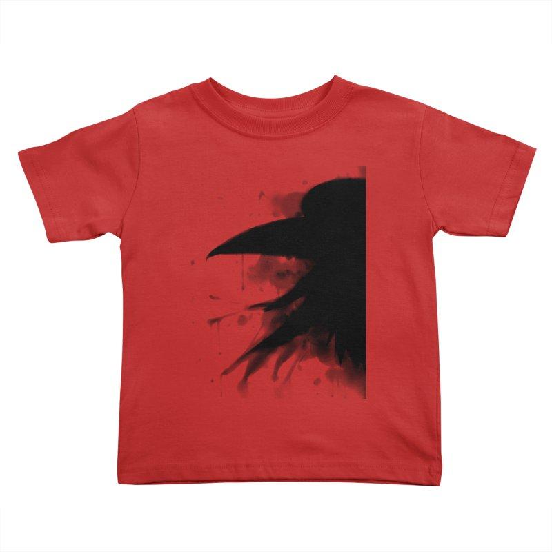 Nevermore Kids Toddler T-Shirt by farorenightclaw's Shop