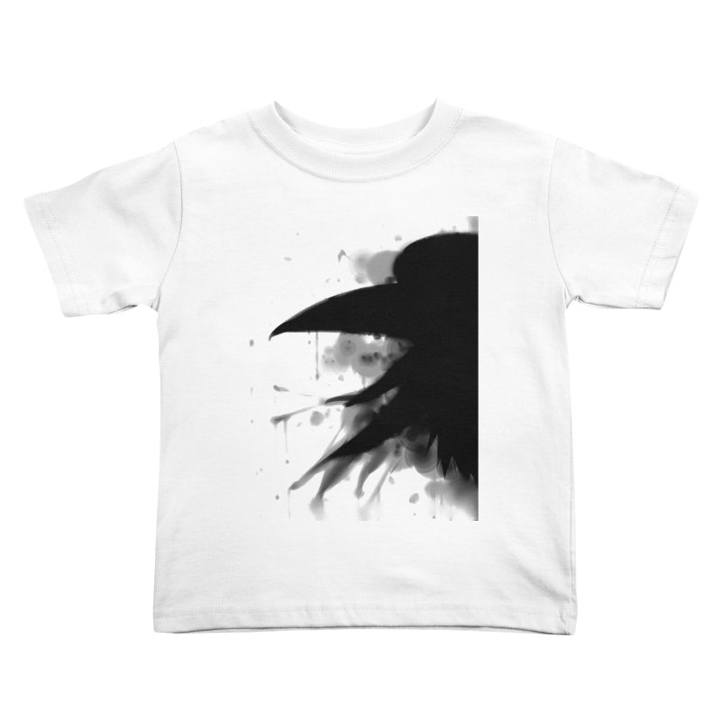 Nevermore Kids Toddler T-Shirt by farorenightclaw's Shop