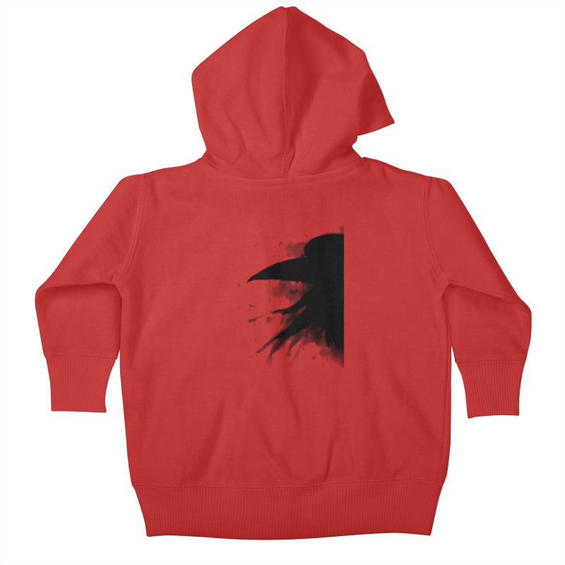 Nevermore Kids Baby Zip-Up Hoody by farorenightclaw's Shop