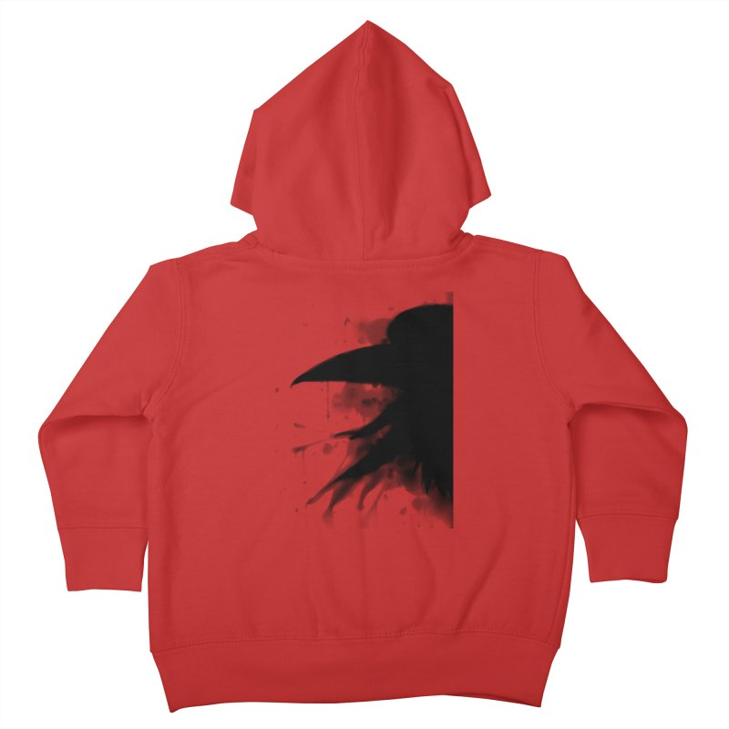Nevermore Kids Toddler Zip-Up Hoody by farorenightclaw's Shop
