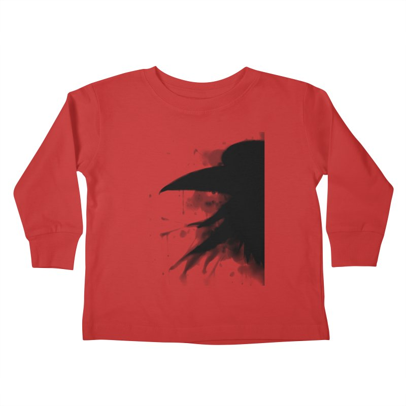 Nevermore Kids Toddler Longsleeve T-Shirt by farorenightclaw's Shop