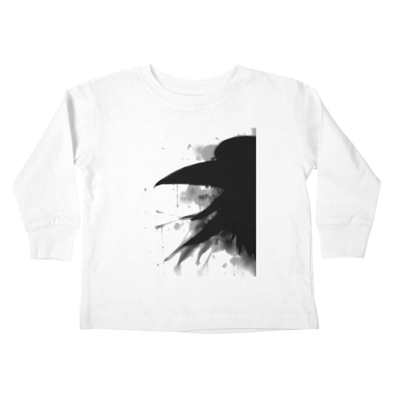 Nevermore Kids Toddler Longsleeve T-Shirt by farorenightclaw's Shop