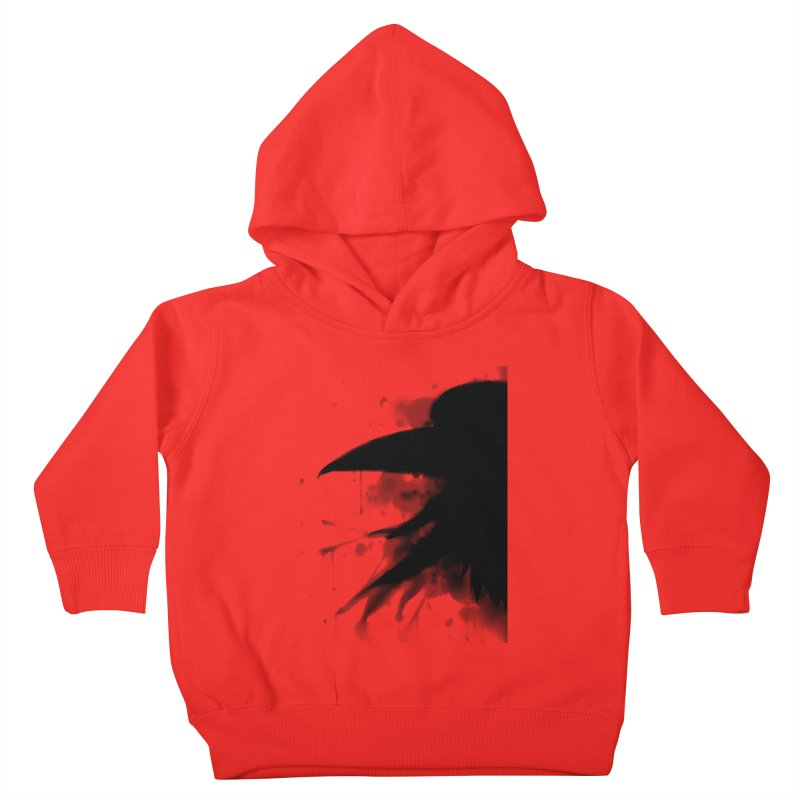 Nevermore Kids Toddler Pullover Hoody by farorenightclaw's Shop