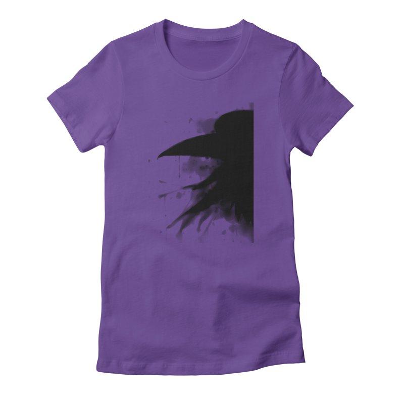 Nevermore Women's T-Shirt by farorenightclaw's Shop
