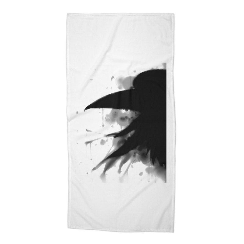 Nevermore Accessories Beach Towel by farorenightclaw's Shop