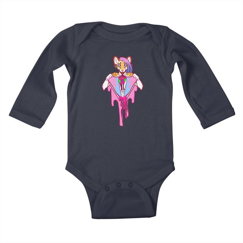 Stereo Heart Kids Baby Longsleeve Bodysuit by farorenightclaw's Shop