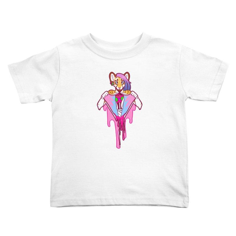 Stereo Heart Kids Toddler T-Shirt by farorenightclaw's Shop