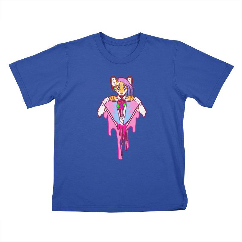 Stereo Heart Kids T-Shirt by farorenightclaw's Shop