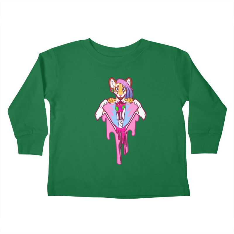 Stereo Heart Kids Toddler Longsleeve T-Shirt by farorenightclaw's Shop