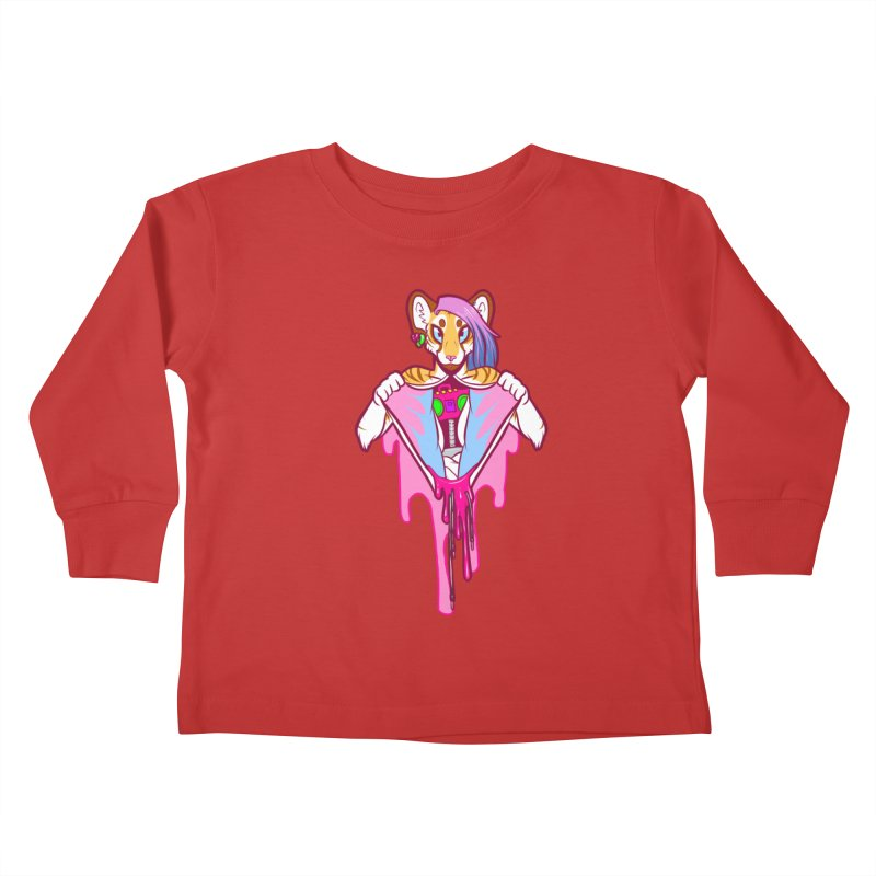 Stereo Heart Kids Toddler Longsleeve T-Shirt by farorenightclaw's Shop
