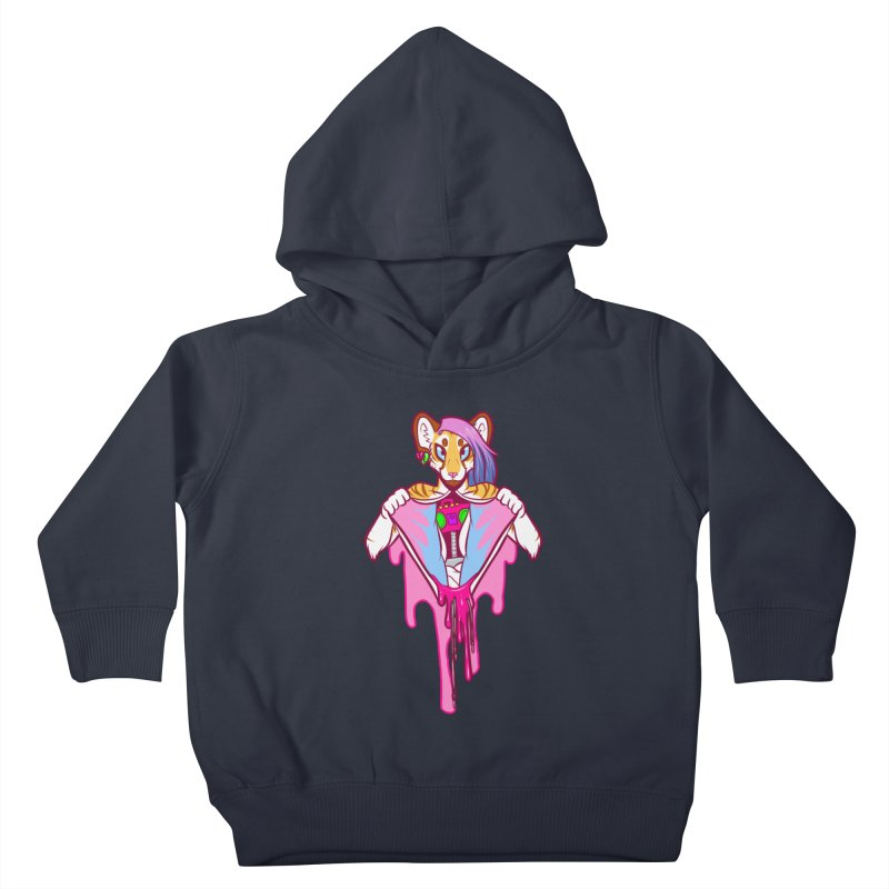 Stereo Heart Kids Toddler Pullover Hoody by farorenightclaw's Shop