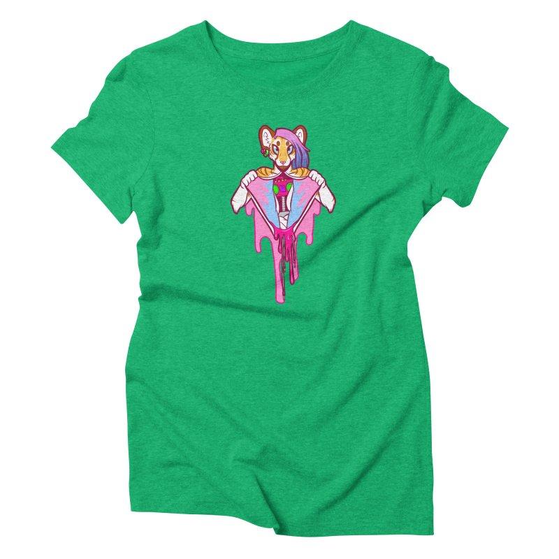 Stereo Heart Women's Triblend T-Shirt by farorenightclaw's Shop
