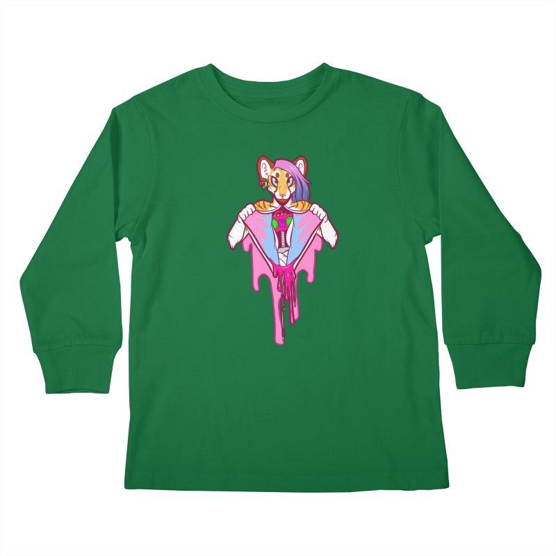 Stereo Heart Kids Longsleeve T-Shirt by farorenightclaw's Shop