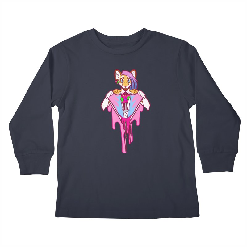 Stereo Heart Kids Longsleeve T-Shirt by farorenightclaw's Shop