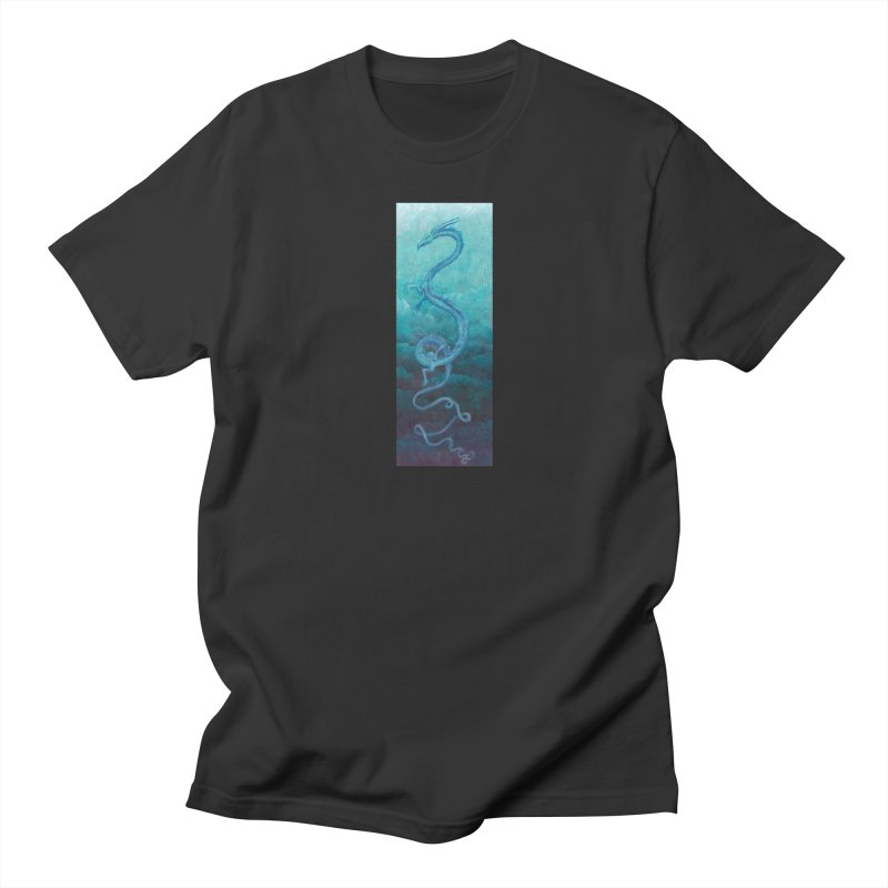 Pthalo Dragon Women's Regular Unisex T-Shirt by farorenightclaw's Shop