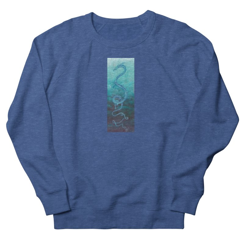 Pthalo Dragon Men's Sweatshirt by farorenightclaw's Shop