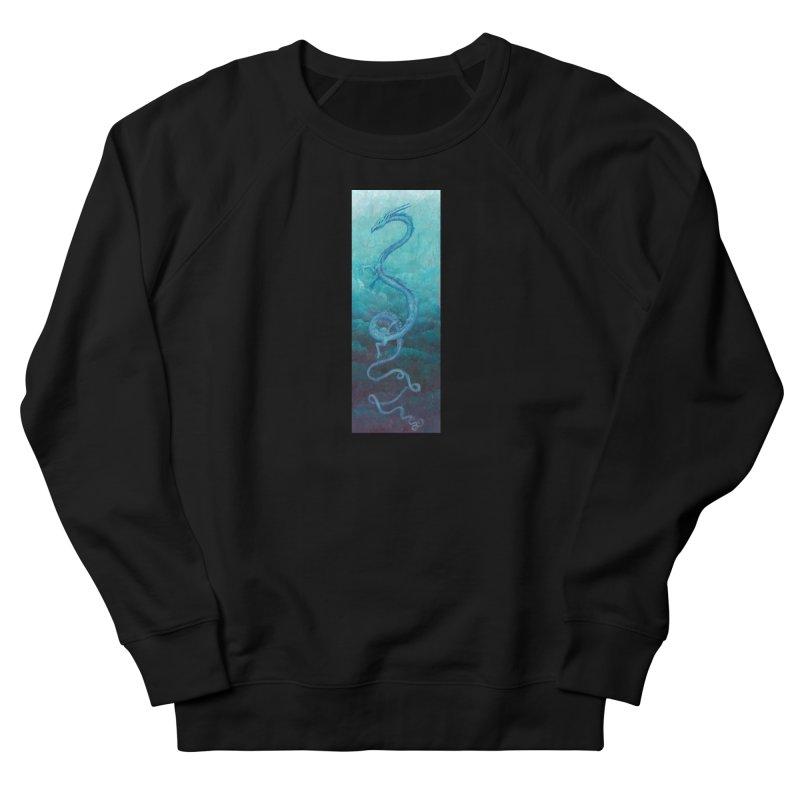 Pthalo Dragon Men's Sweatshirt by farorenightclaw's Shop