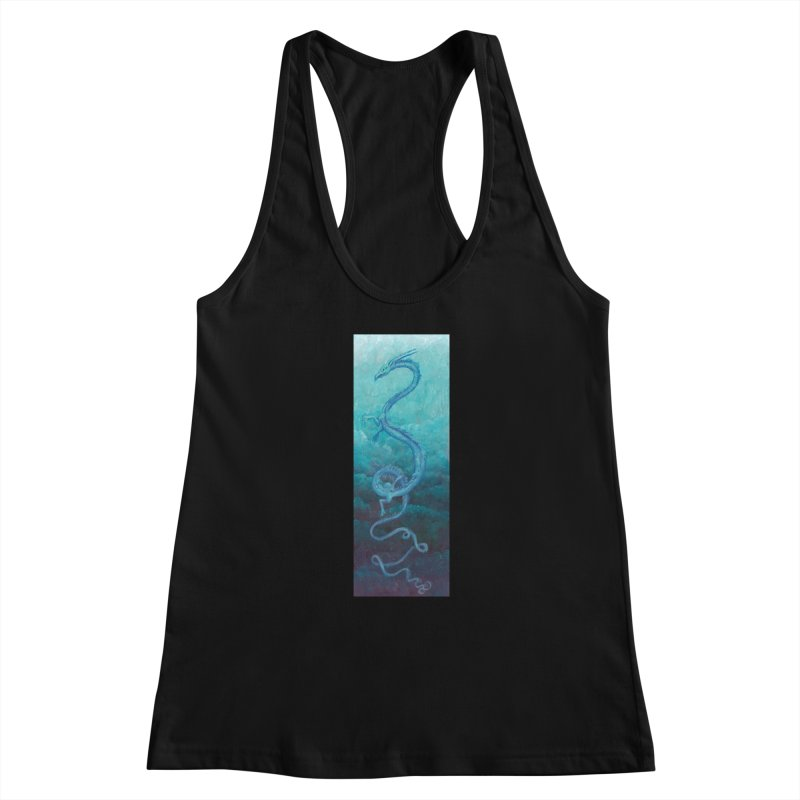 Pthalo Dragon Women's Tank by farorenightclaw's Shop