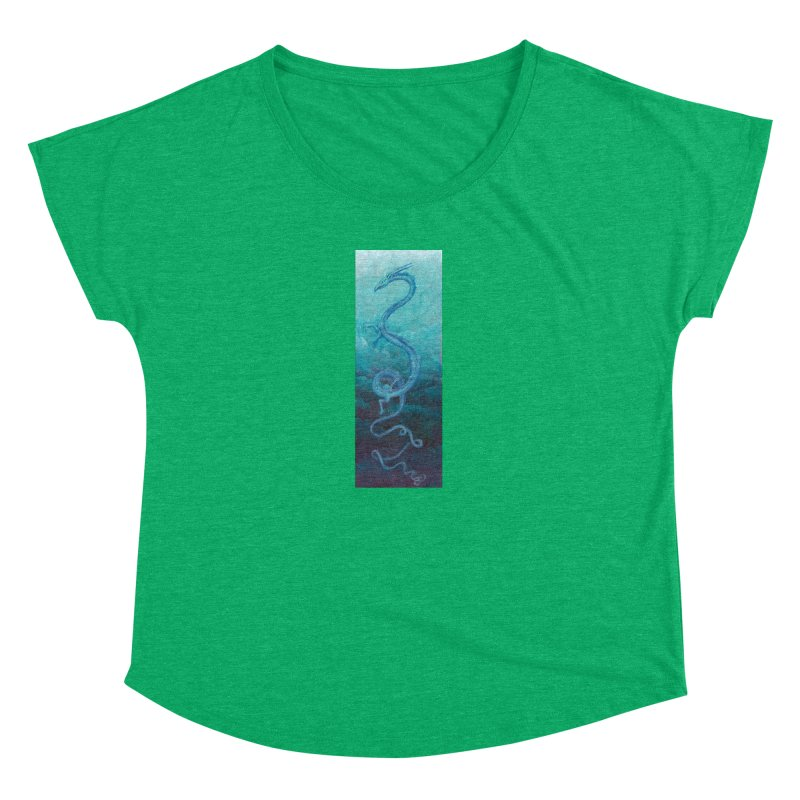 Pthalo Dragon Women's Dolman Scoop Neck by farorenightclaw's Shop