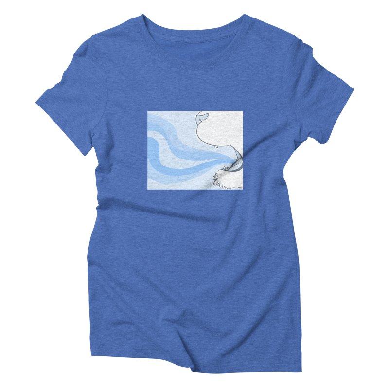 Breath of Fresh Air Women's Triblend T-Shirt by farorenightclaw's Shop