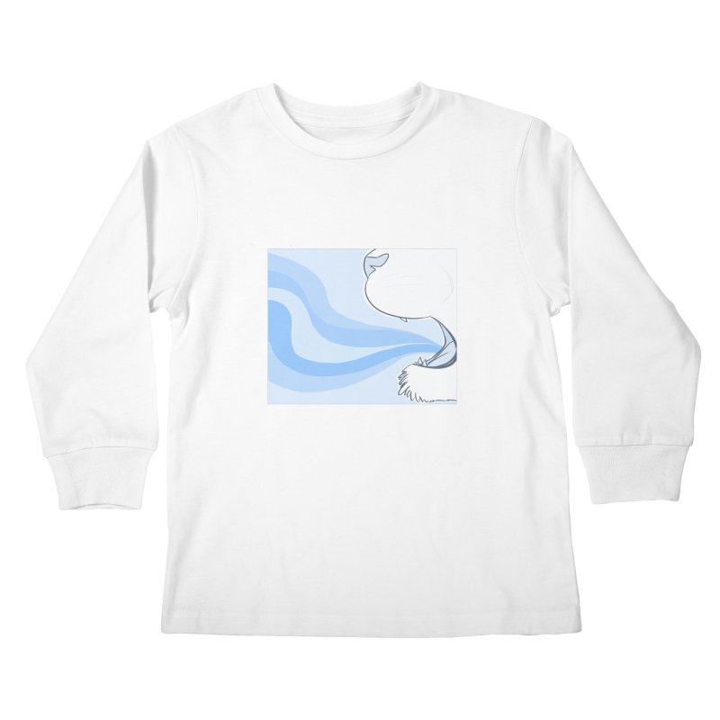 Breath of Fresh Air Kids Longsleeve T-Shirt by farorenightclaw's Shop