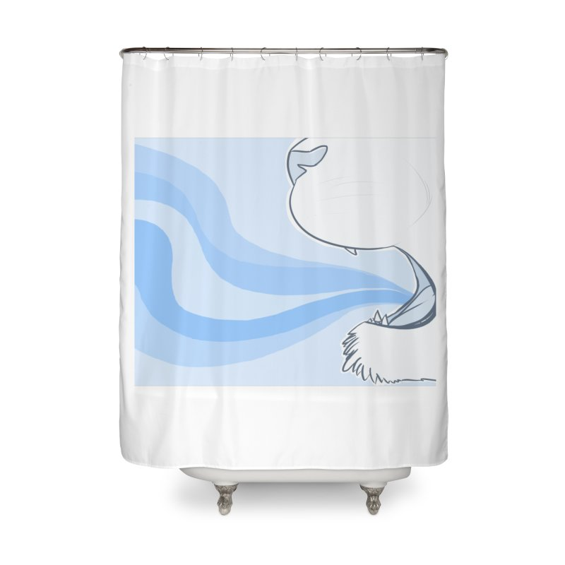 Breath of Fresh Air Home Shower Curtain by farorenightclaw's Shop