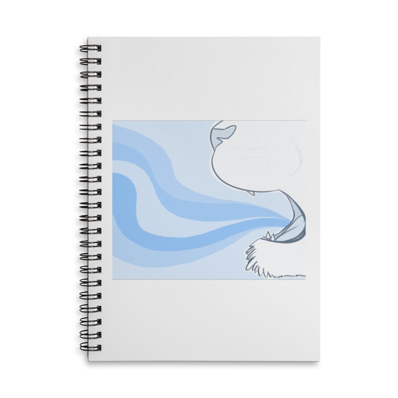 Breath of Fresh Air Accessories Lined Spiral Notebook by farorenightclaw's Shop