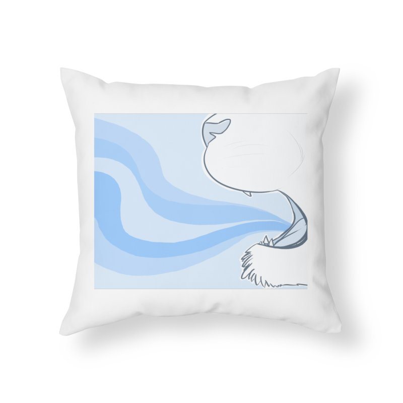 Breath of Fresh Air Home Throw Pillow by farorenightclaw's Shop