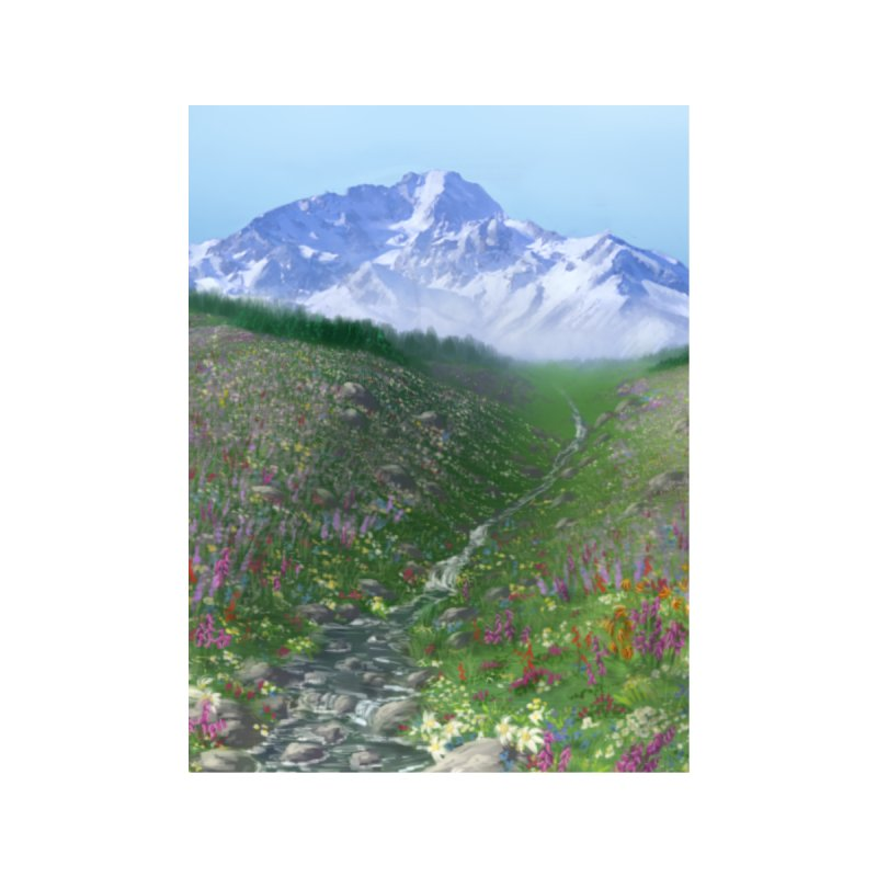 Alpine Meadow Accessories Phone Case by farorenightclaw's Shop