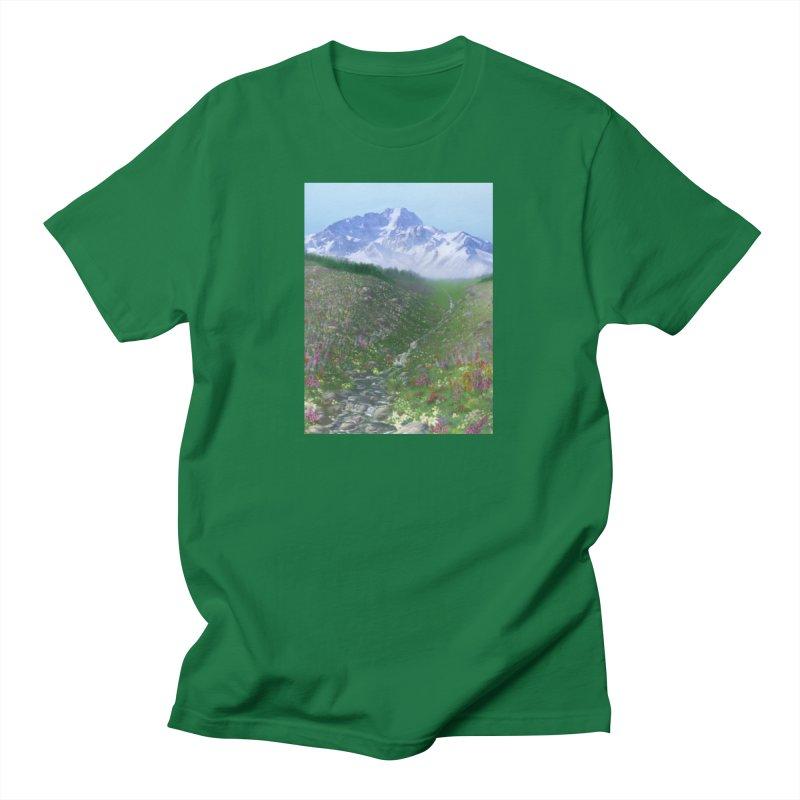 Alpine Meadow Men's T-Shirt by farorenightclaw's Shop