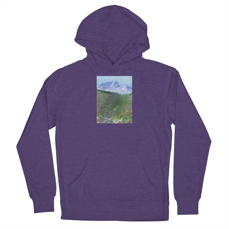 Alpine Meadow Women's French Terry Pullover Hoody by farorenightclaw's Shop