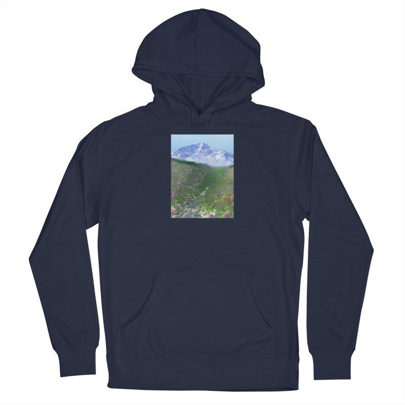 Alpine Meadow Men's Pullover Hoody by farorenightclaw's Shop